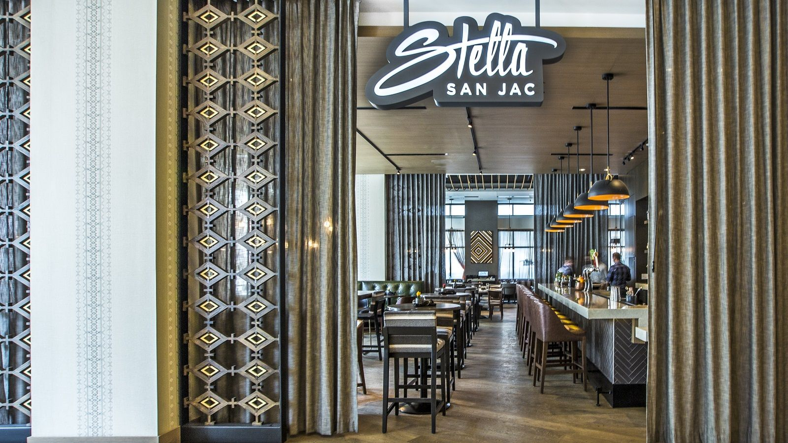 Downtown Austin Restaurants - Stella San Jac Dining Room