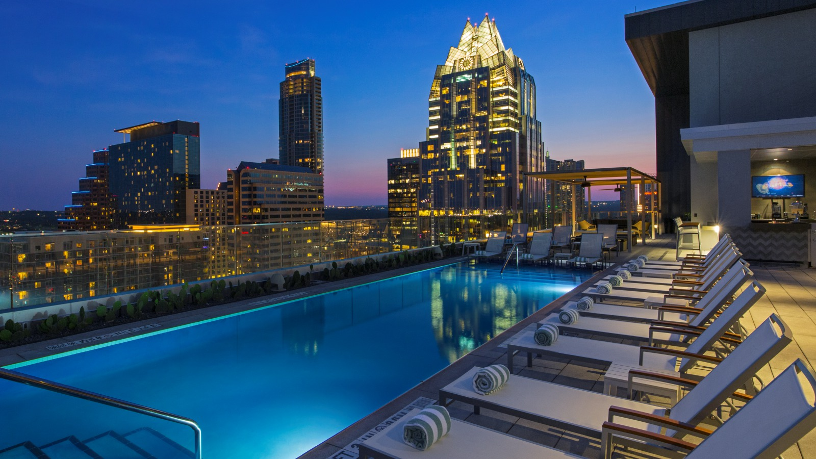 The Westin Austin Downtown Rooftop Pool