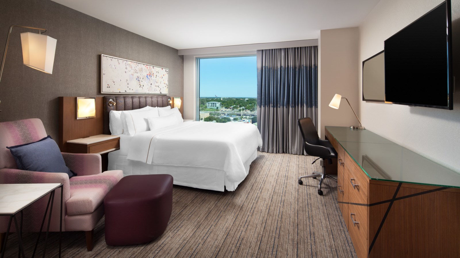 deluxe guestrooms - the westin austin at the domain