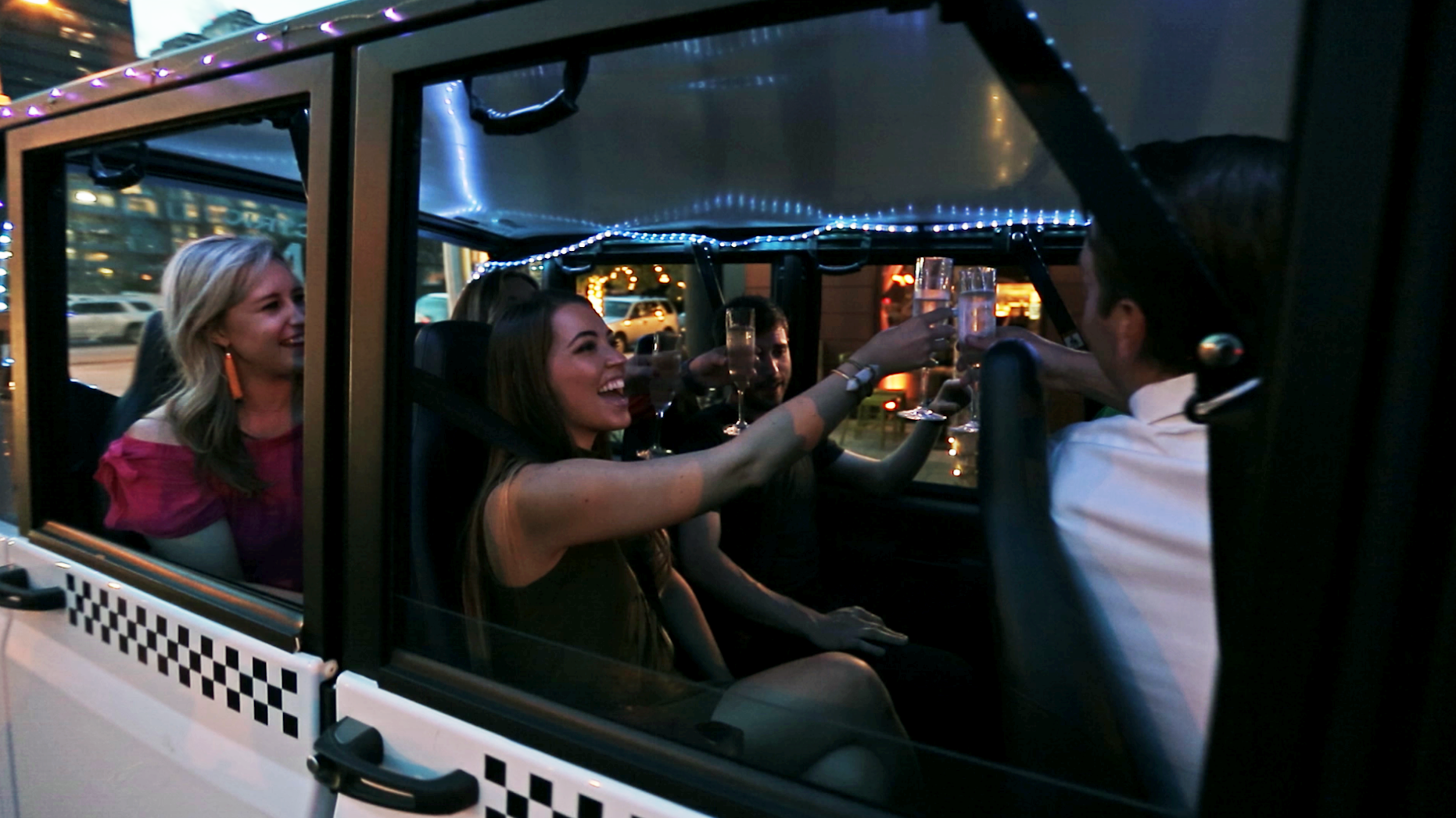 ATX Ride and Dine - Electric Cab