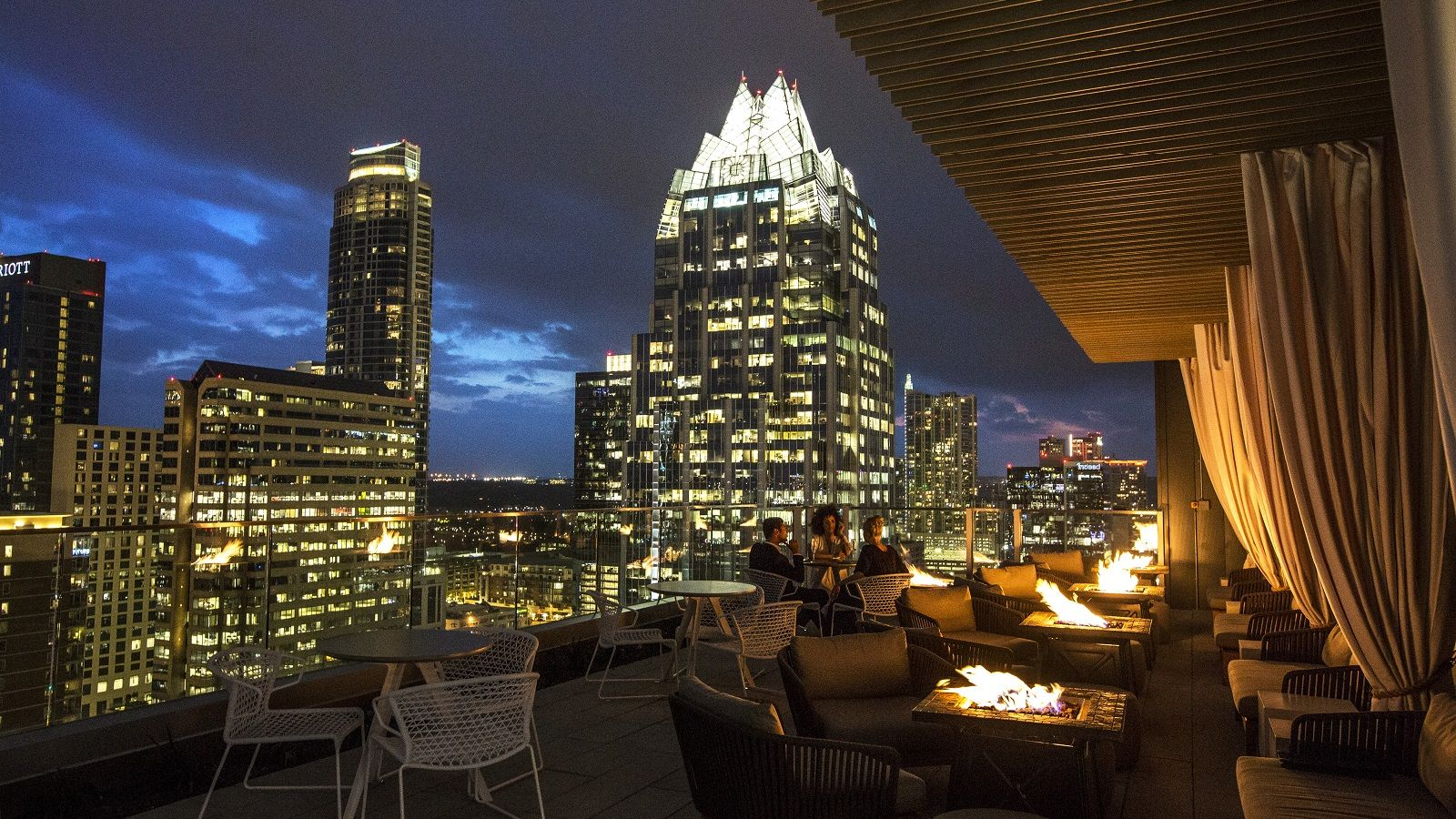 The Westin Austin Downtown - Fire pit