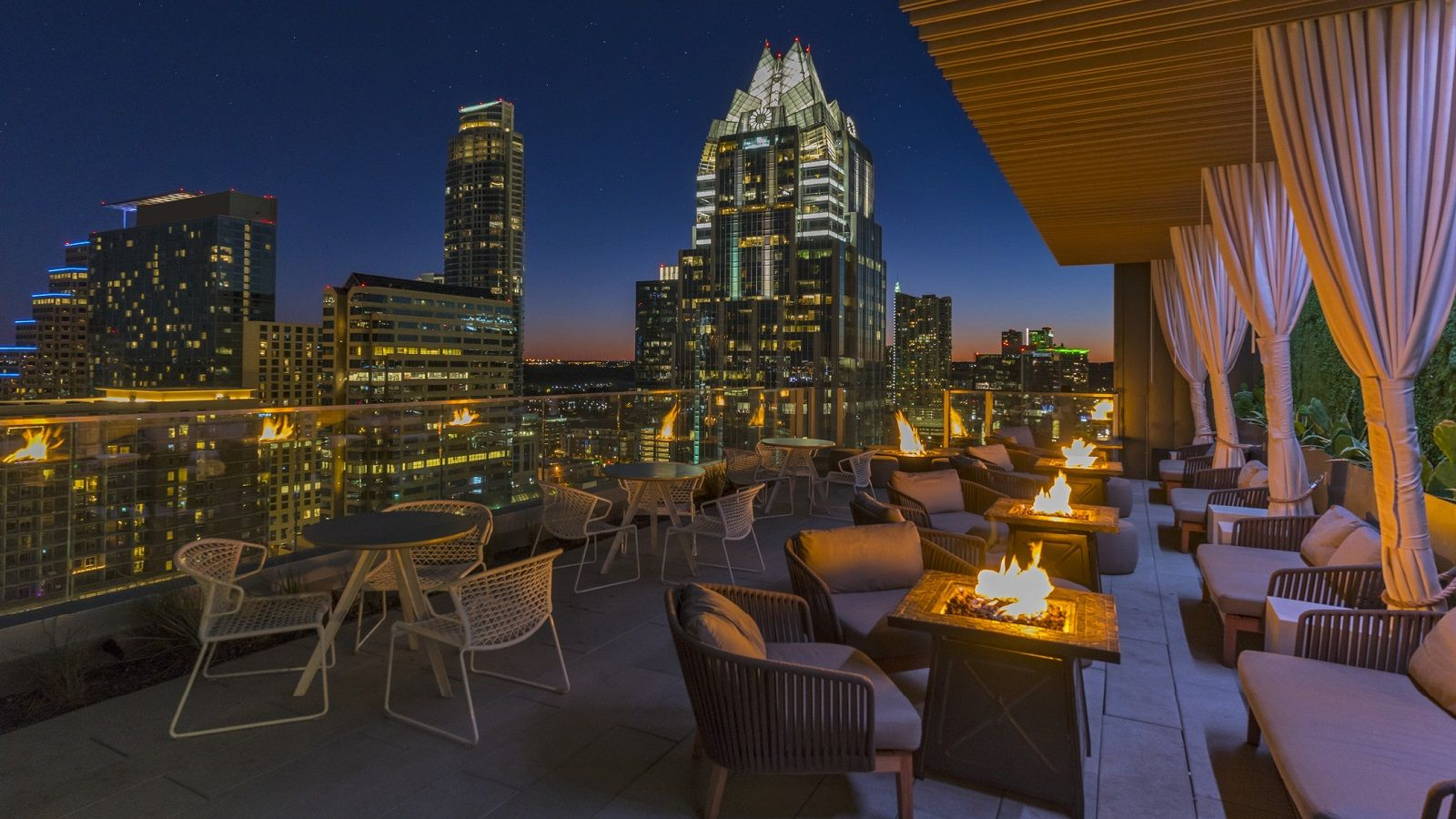 The Westin Austin Downtown - City View